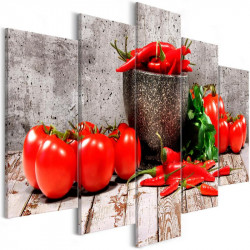 Billede - Red Vegetables (5...