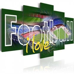 Billede - I Love Football