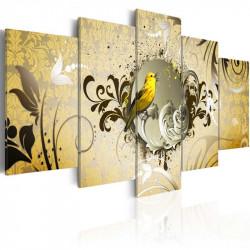 Billede - Yellow bird singing