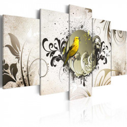 Billede - Yellow bird
