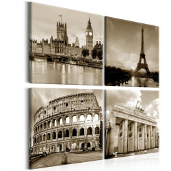Billede - European Capitals