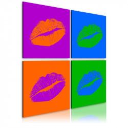 Billede - Kisses: Pop kunst