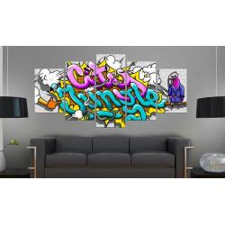 Billede - Graffiti: city...
