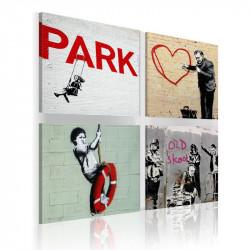 Billede - Banksy - urban...