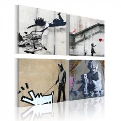 Billede - Banksy - fire...