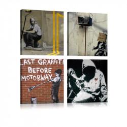 Billede - Banksy - Street Art