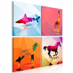 Billede - Geometric Animals...