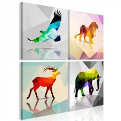 Billede - Colourful Animals...