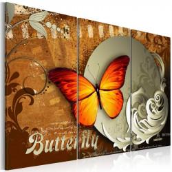 Billede - Fiery butterfly...