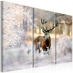 Billede - Deer in the Cold I