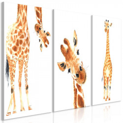 Billede - Funny Giraffes (3...