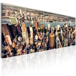 Billede - Flight over New York