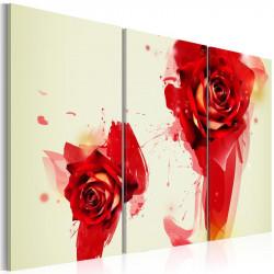 Billede - A new look on a rose