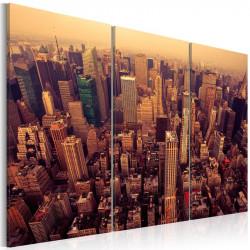 Billede - Sunset over New York