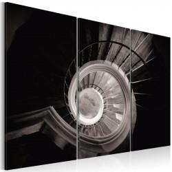 Billede - Down a spiral...