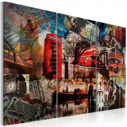 Billede - London collage -...