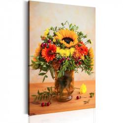 Billede - Autumnal Flowers