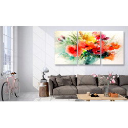 Billede - Watercolor Bouquet