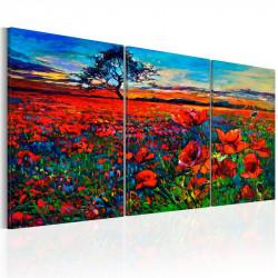 Billede - Valley of Poppies