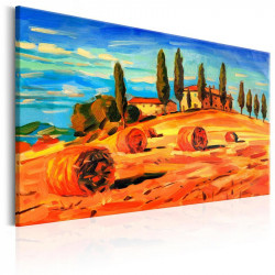 Billede - August in Tuscany
