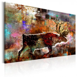 Billede - Colourful Caribou