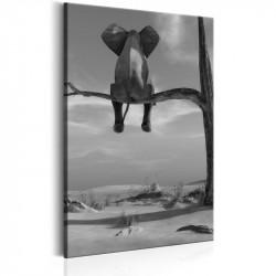 Billede - Resting Elephant