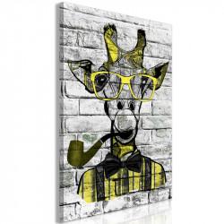 Billede - Giraffe with Pipe...