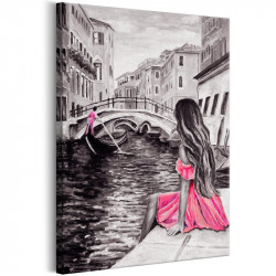 Billede - Woman in Venice...