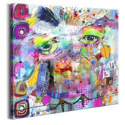 Billede - Colourful Owl