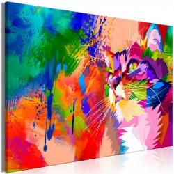 Billede - Colourful Cat (1...