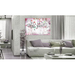 Billede - Flamingoes Family
