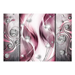 Fototapet - Pink and Diamonds