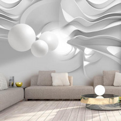 Fototapet - White Corridors