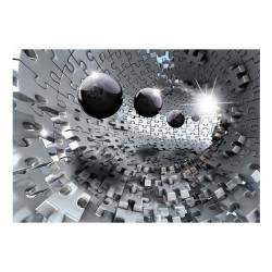 Fototapet - Puzzle - Tunnel