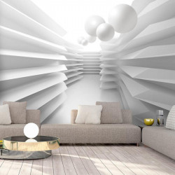 Fototapet - White Maze