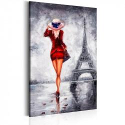 Billede - Lady in Paris