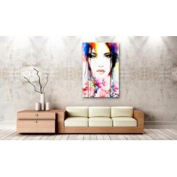 Billede - Colourful Lady