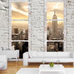 Fototapet - New York: view...