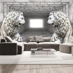 Fototapet - Stone Lions