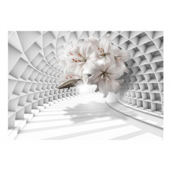 Fototapet - Flowers in the...