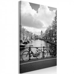 Billede - Bikes On Bridge...