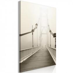 Billede - Bridge in the Fog...
