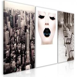 Billede - Faces of City (3...