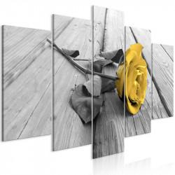 Billede - Rose on Wood (5...