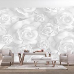 Fototapet - Plaster Flowers