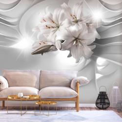 Fototapet - Lilies in the...