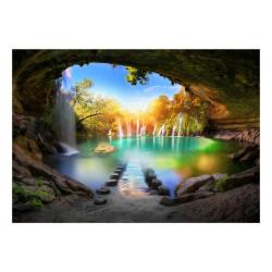 Fototapet - Turquoise Lake