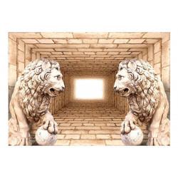 Fototapet - Mystery of lions