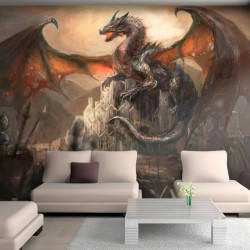 Fototapet - Dragon castle