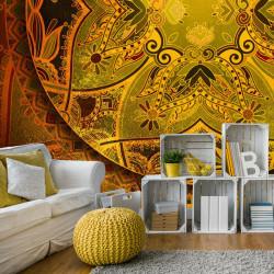 Fototapet - Mandala: Golden...